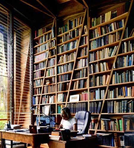 Diagonal Bookshelf Officeenvy