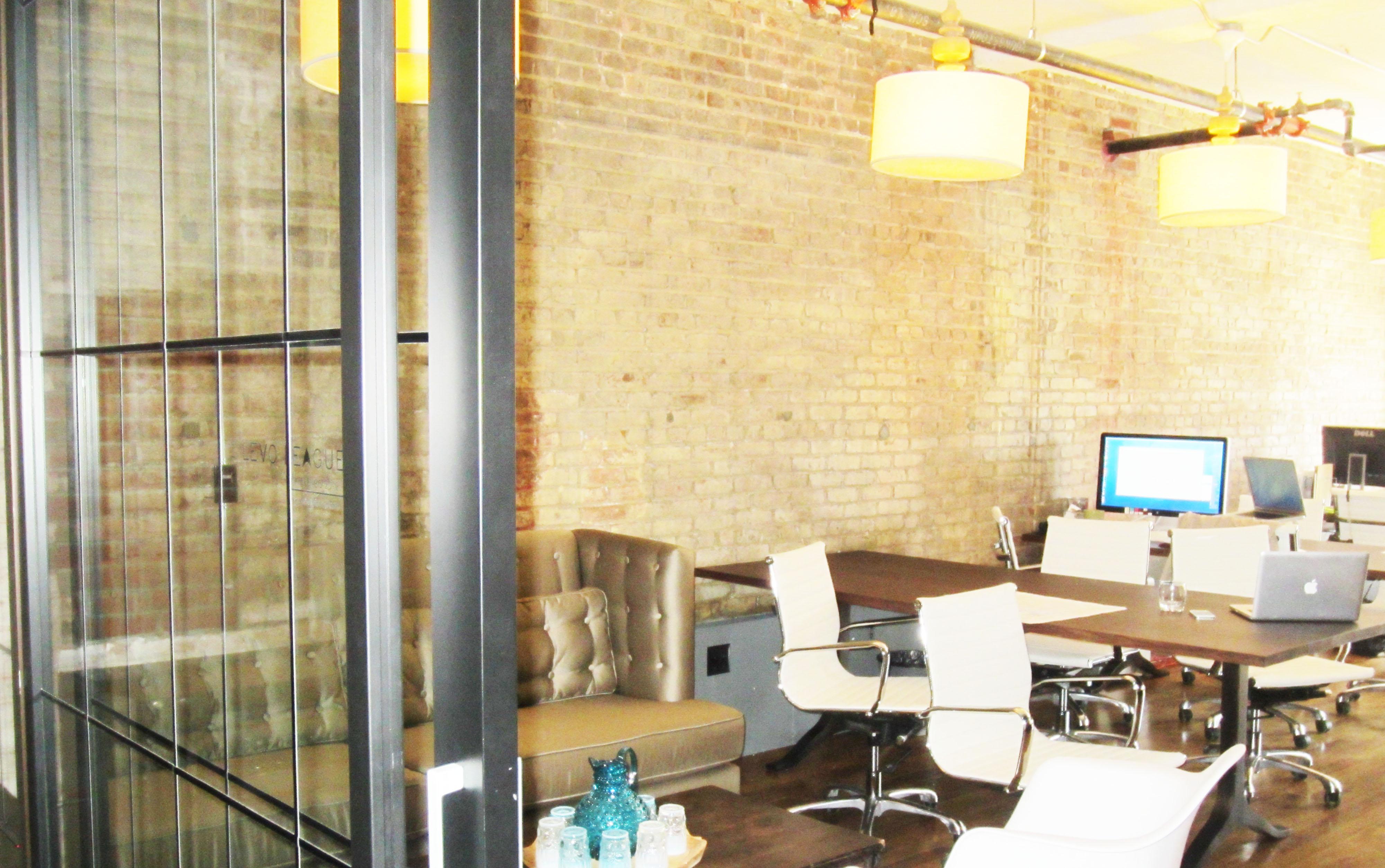 exposed brick | OfficeEnvy