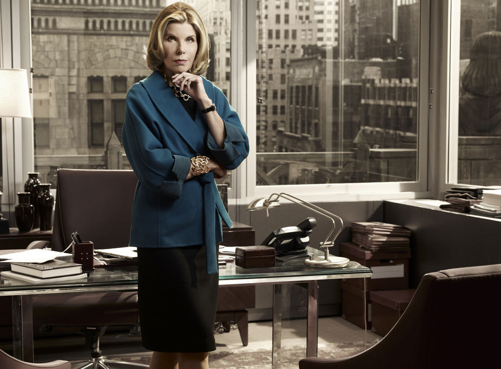 Diane Lockhart Wallpaper Diane Office