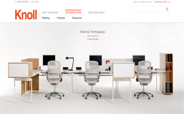 Knoll Launches E Comm Opens NYC Flagship