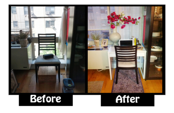 creating office space. Before And After Creating Office Space