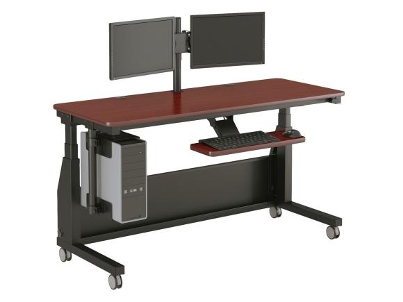 Desk on wheels officeenvy - The mobile office working on two wheels ...